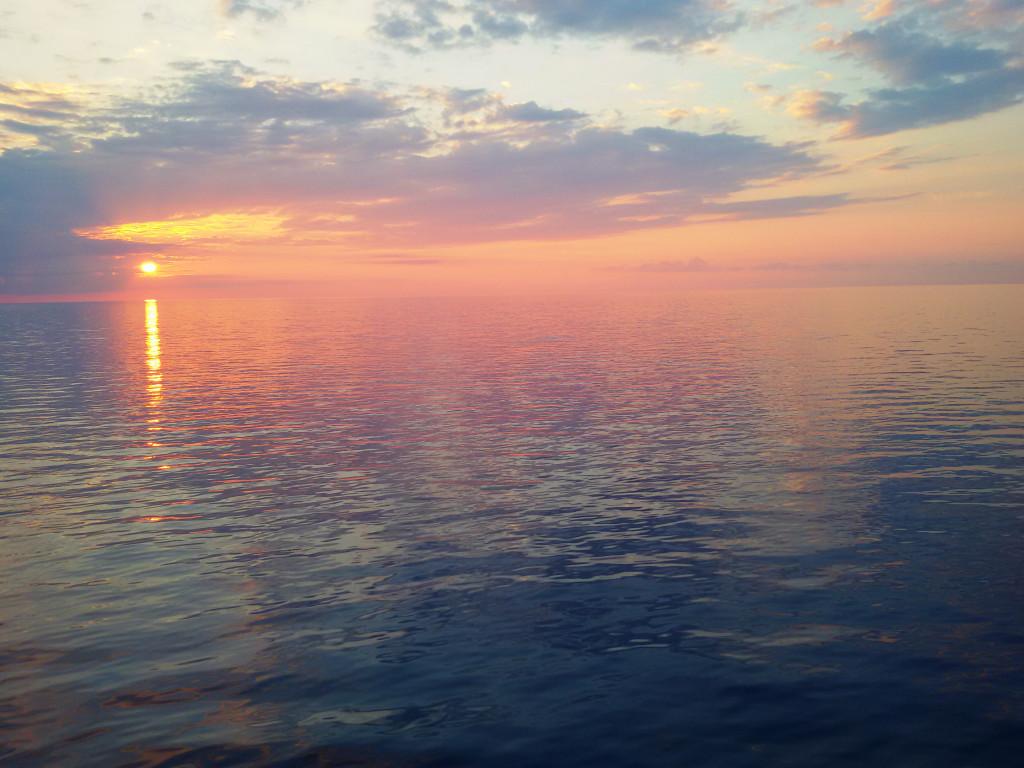 Kolejny piękny zachód słońca
