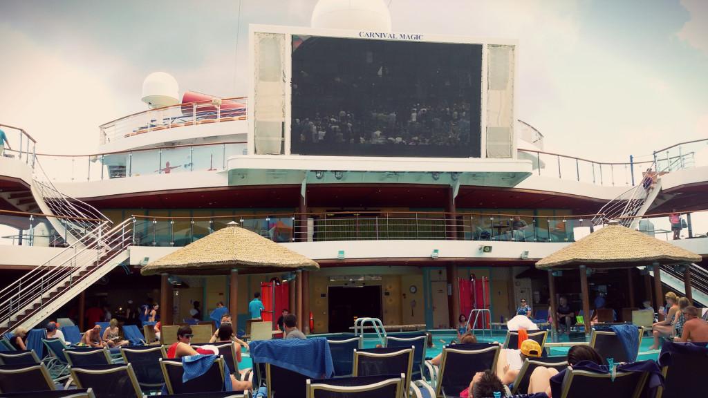 Statkowe zewnętrzne kino