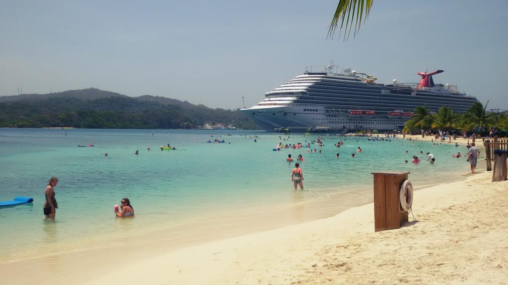 Plaża, Honduras